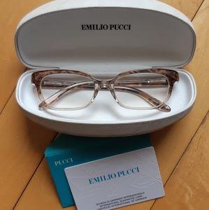 EMILIO PUCCI Cat Eyeglasses